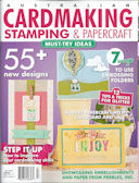 Australian Cardmaking Stamping and Papercraft magazine